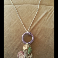 Want 2 See You Dream Catcher Necklace