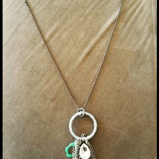Key Dream Catcher Necklace