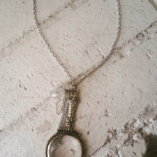 Magnify Glass Necklace